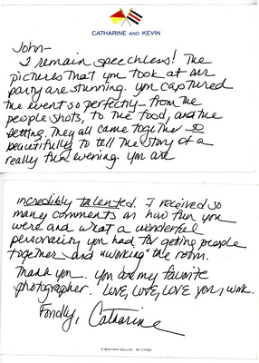 Rave review of wedding photography