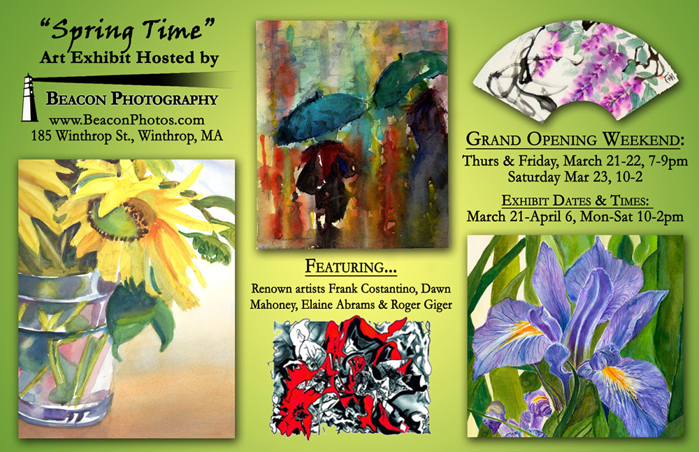 """""""Spring Time"""" Art Exhibit at Beacon Photography Gallery"""
