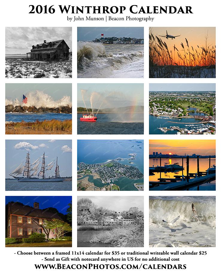 2016 Winthrop Calendar by John Munson | beacon Photography