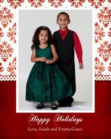 Classy Christmas Card