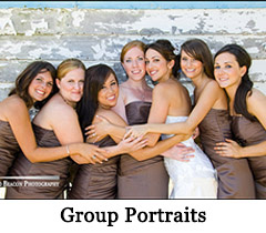 Group Wedding Portraits