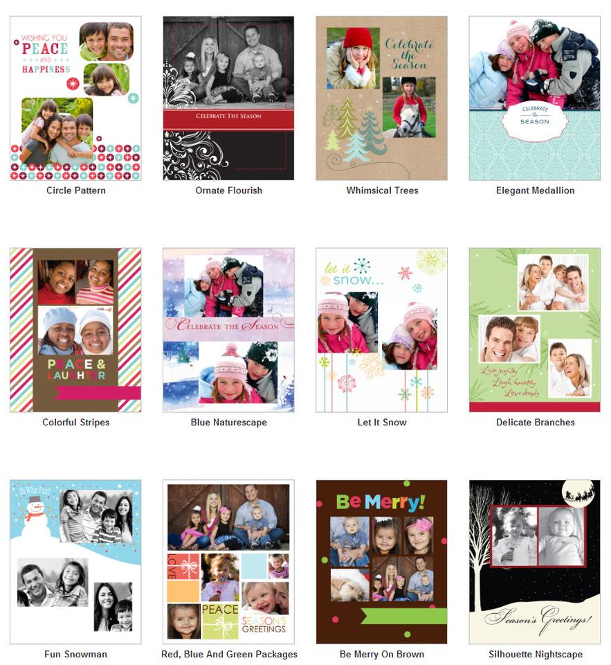 Beacon Holiday Card Designs