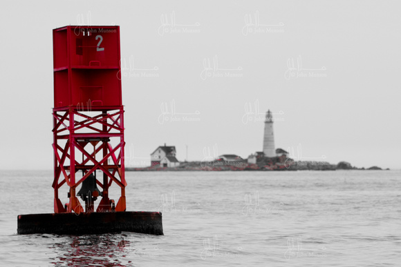 Beacon Photography & Framing | Boston Harbor | Boston Harbor Buoy ...