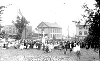 Dedication of Soliders Monument 05-30-1910