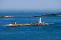 Boston Light with Graves Light in Background
